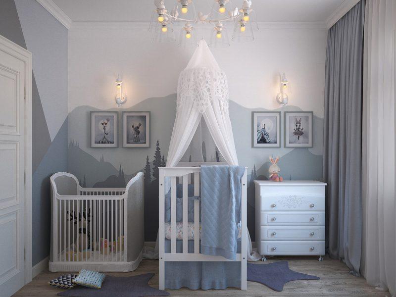 Welke kleurencombinatie kies je voor de babykamer?
